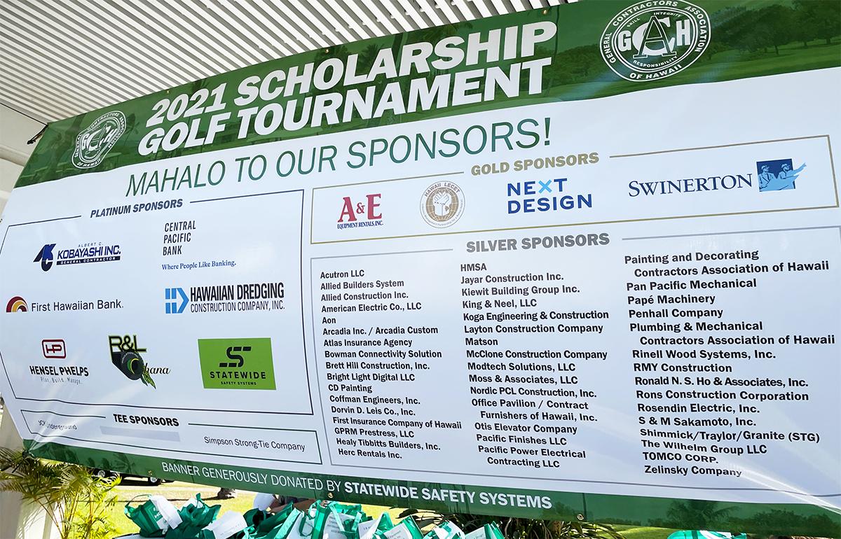 Save the Date: GCA 2021 Scholarship Golf Tournament