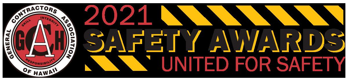 "2021 GCA Safety Awards - ""United for Safety"""