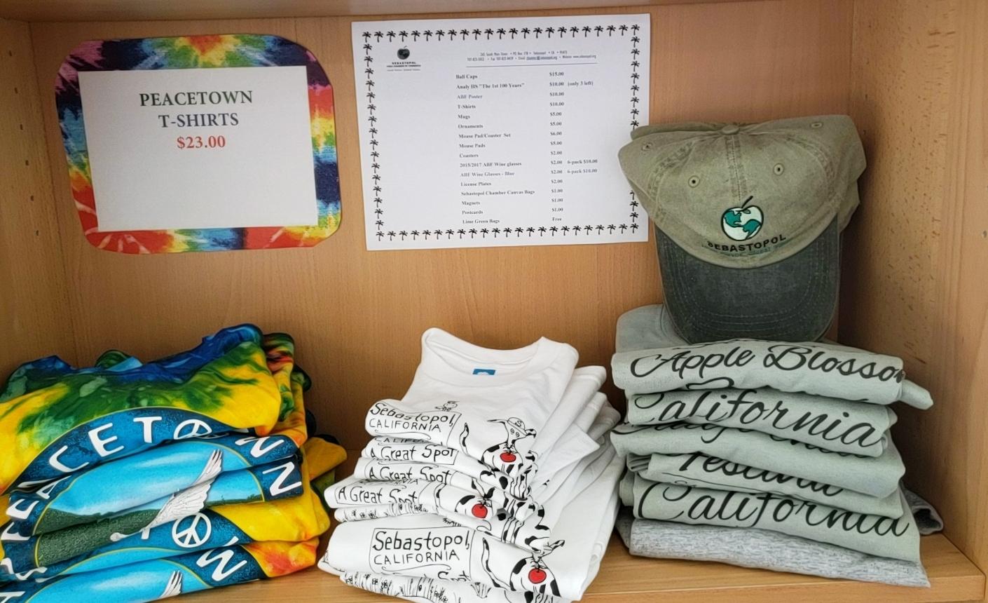 Peacetown T--Shirts---Sebastopol T-Shirts---Caps