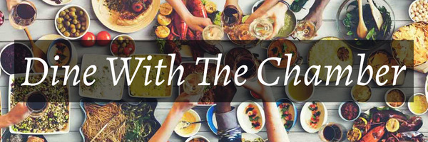 Dine With The Chamber Official Banner