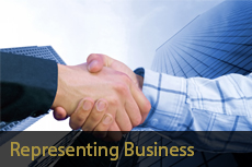 Representing Business