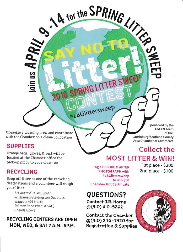 Say No to Litter Flyer