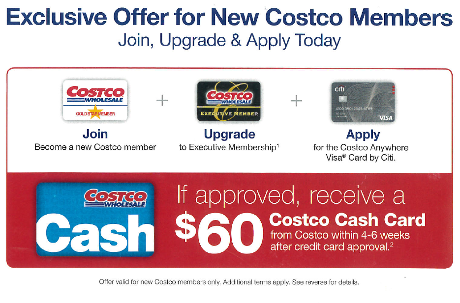 Costco Wholesale - Exclusive Offer for New Costco Members ...