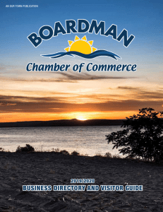 Boardman Chamber of Commerce Business Directory & Visitors Guide