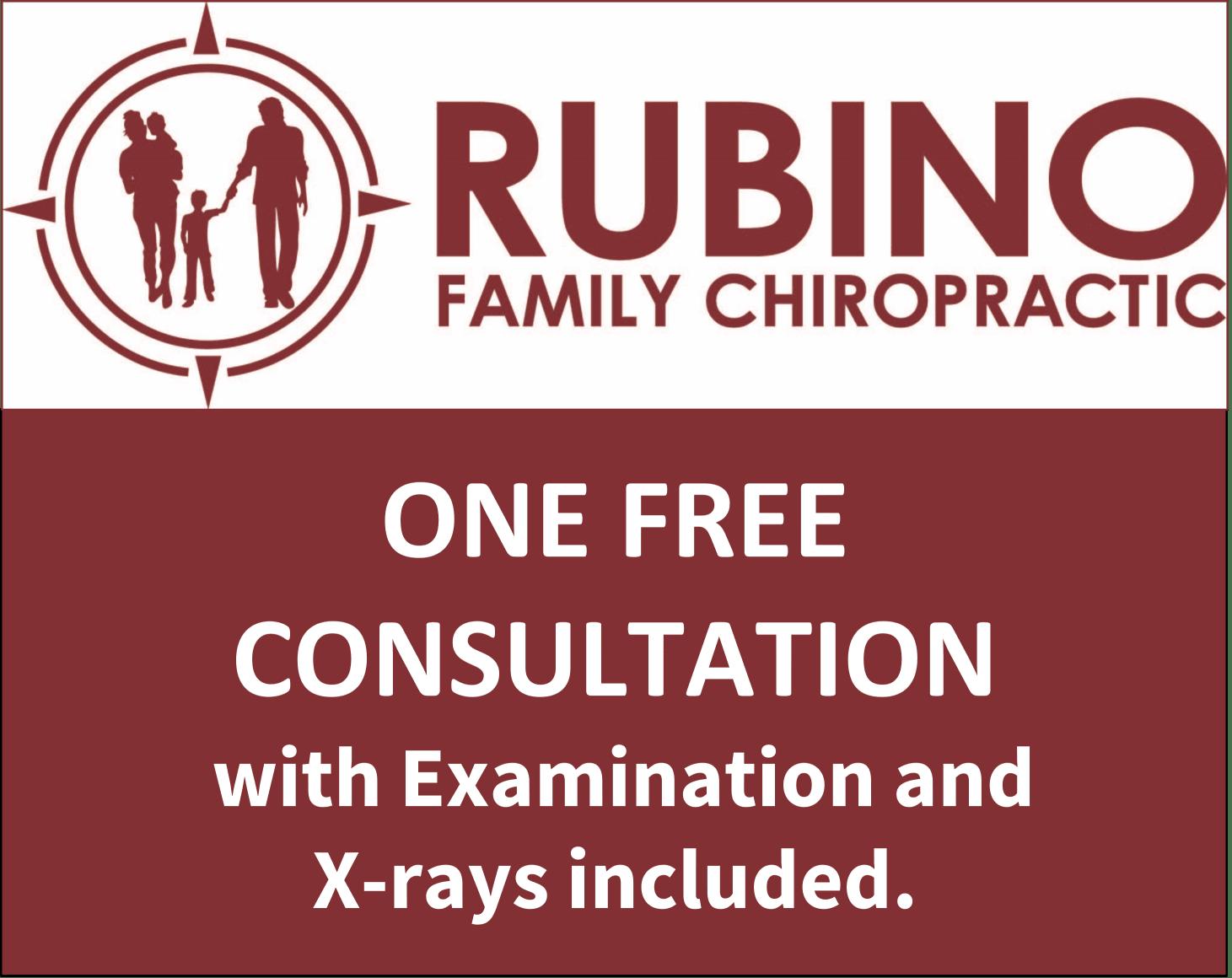 Rubino Family Chiropractor Free Consultation