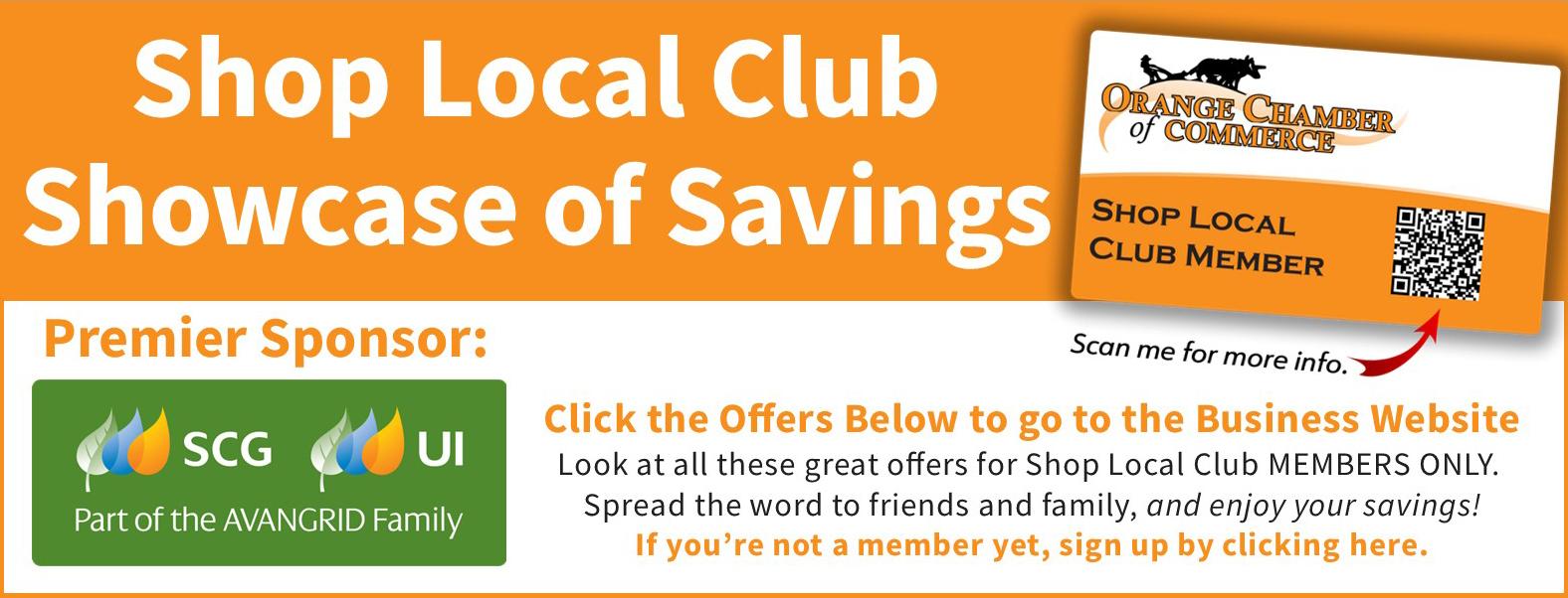 Shop Local Club Header