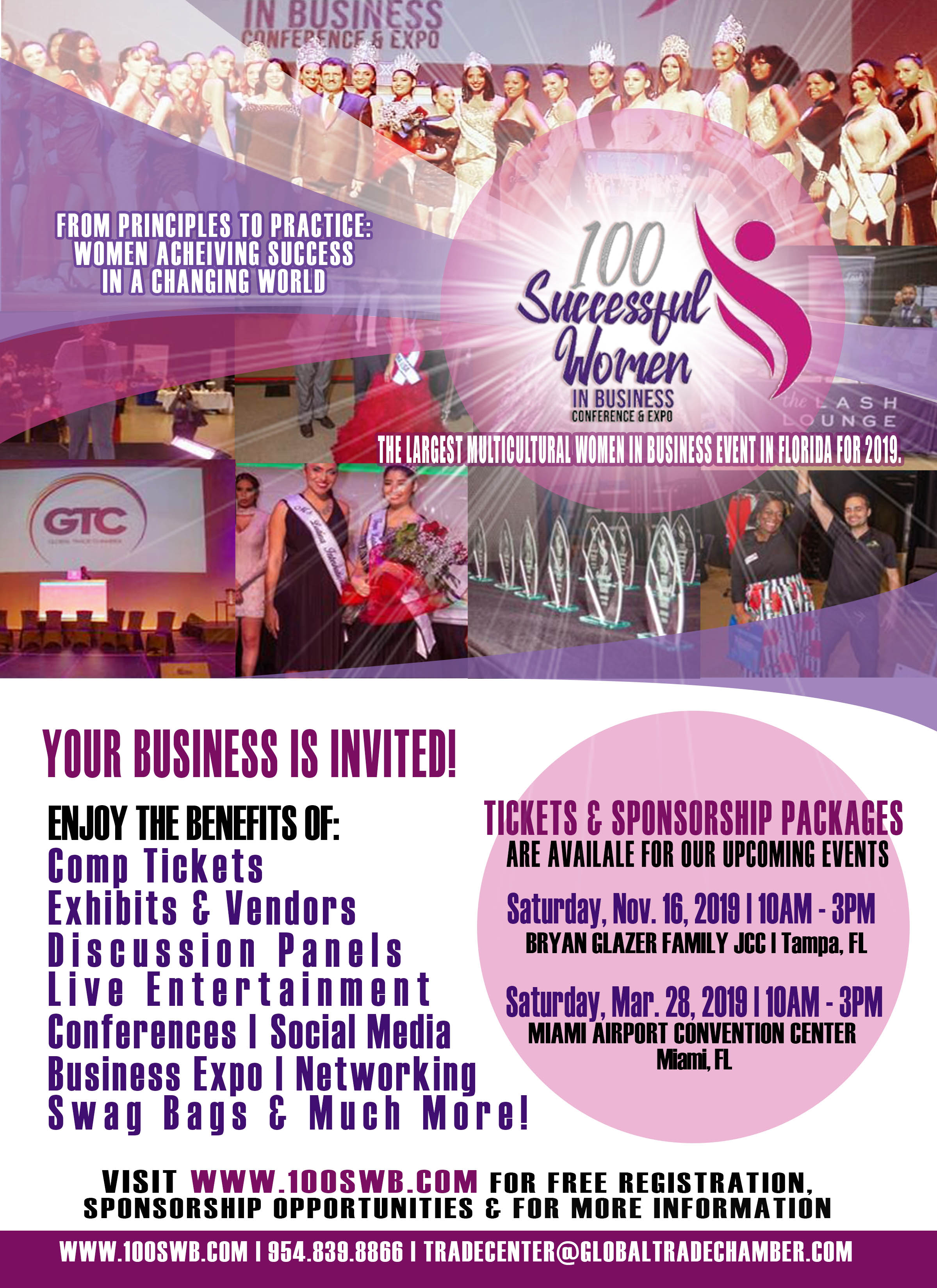 100 Successful Women in Business Conference - Nov 16, 2019