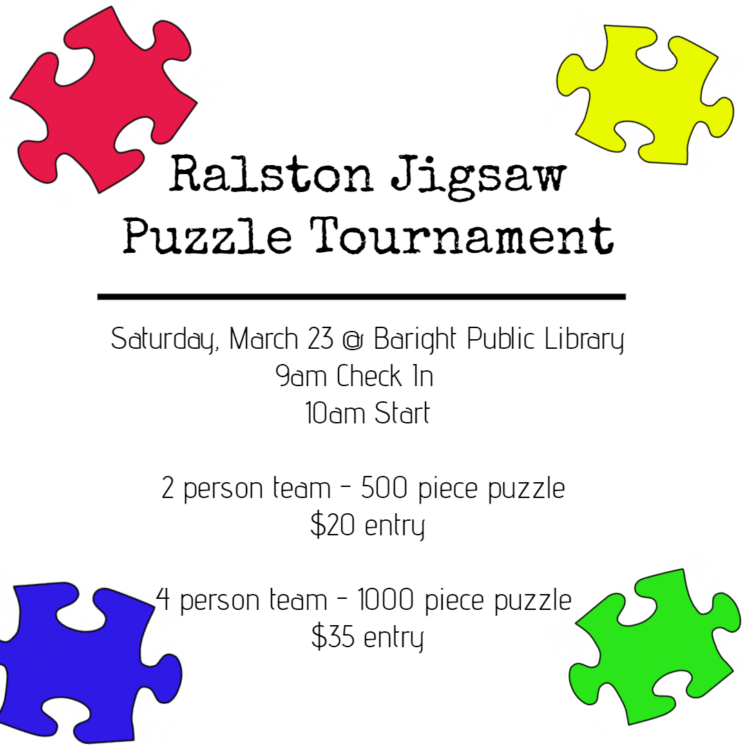 Ralston's Jigsaw Puzzle Tournament