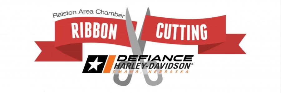 Defiance Harley-Davidson Ribbon Cutting