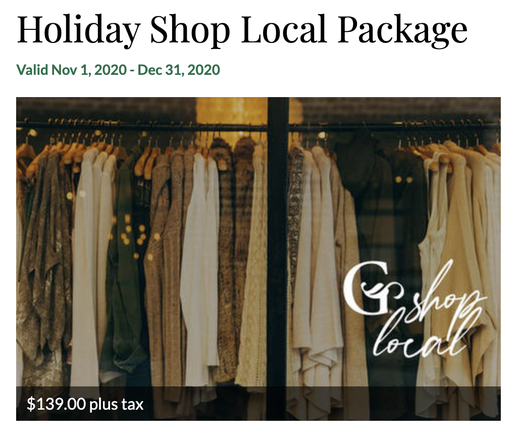 GrandStay Shop Local Package