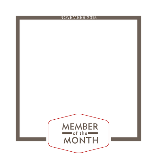 member of the month frame