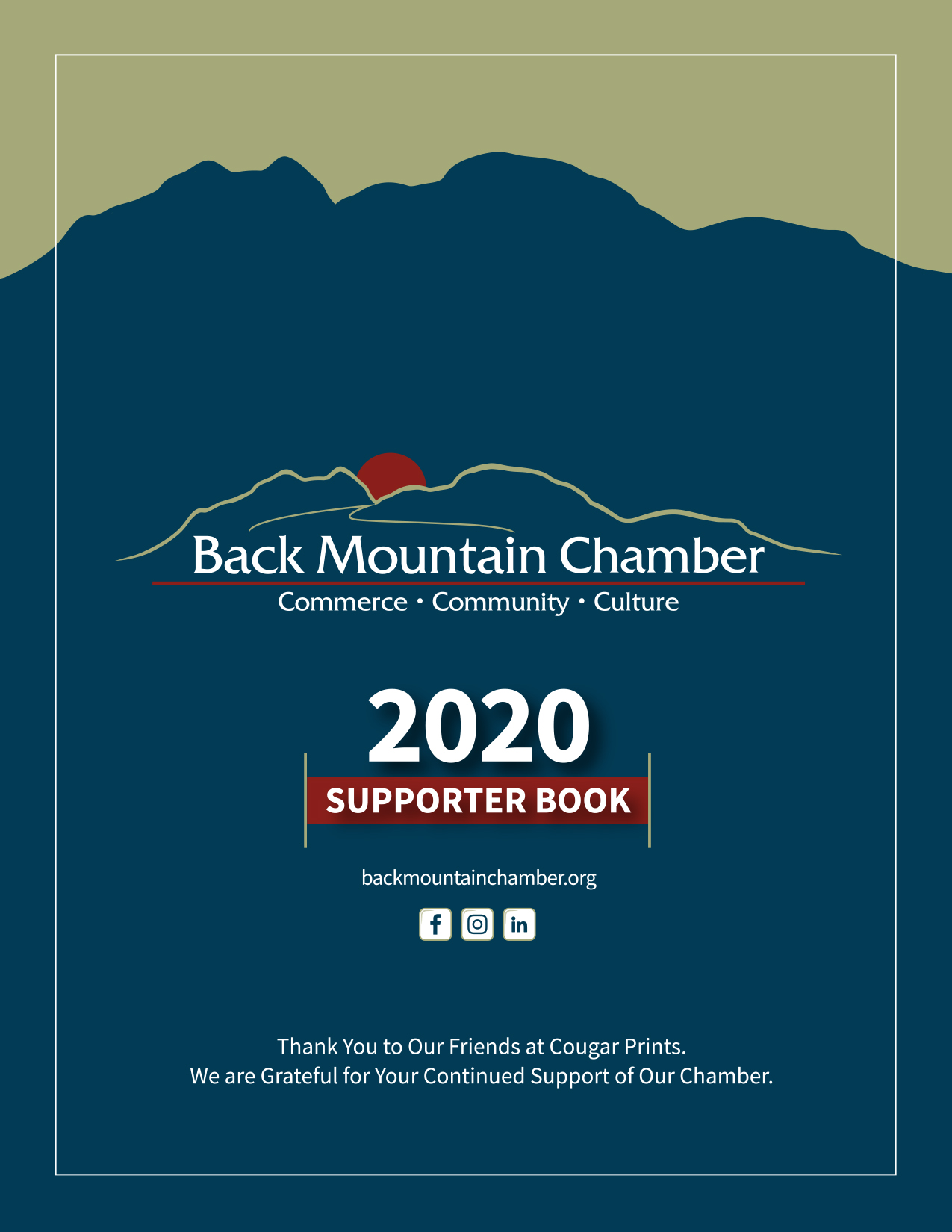 Back Mountain Chamber 2020 Supporter Book