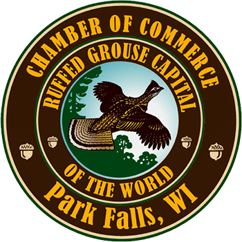 Park Falls, Wisconsin Area Chamber of Commerce Logo