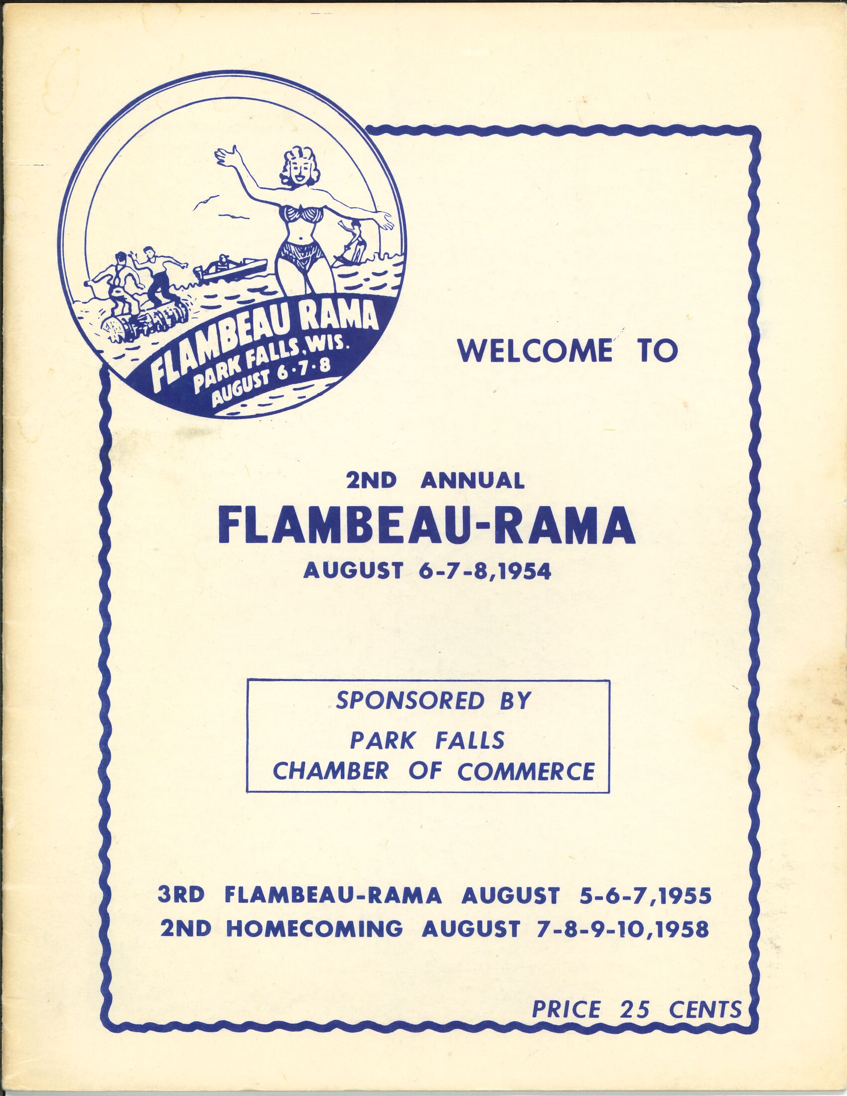 2nd Annual Flambeau Rama Guide 1958