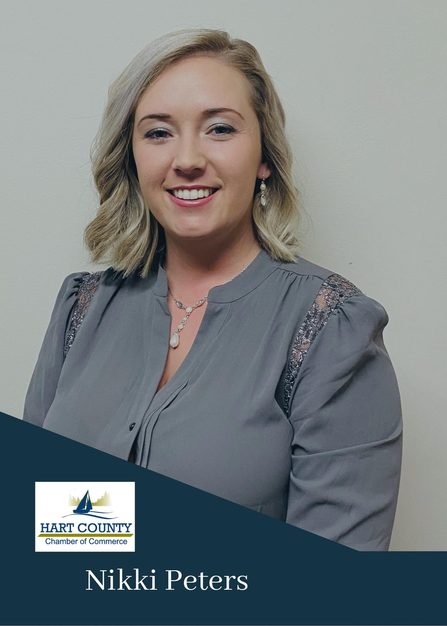 Nikki Peters- Treasurer Hart County Chamber