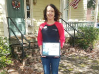 Hart County Chamber of Commerce Ambassador of the Quarter