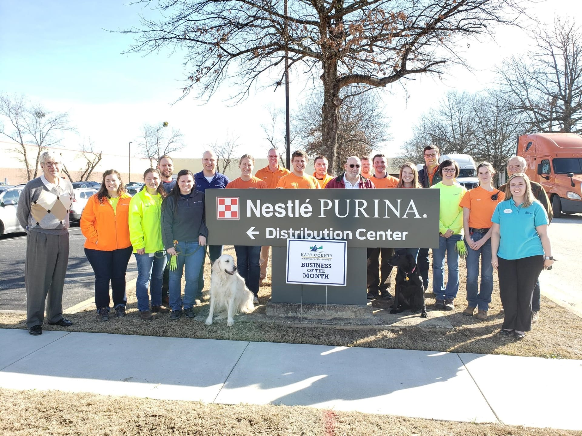 January business of the month: Nestle Purina