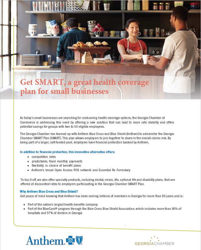 Chamber SMART plan insurance