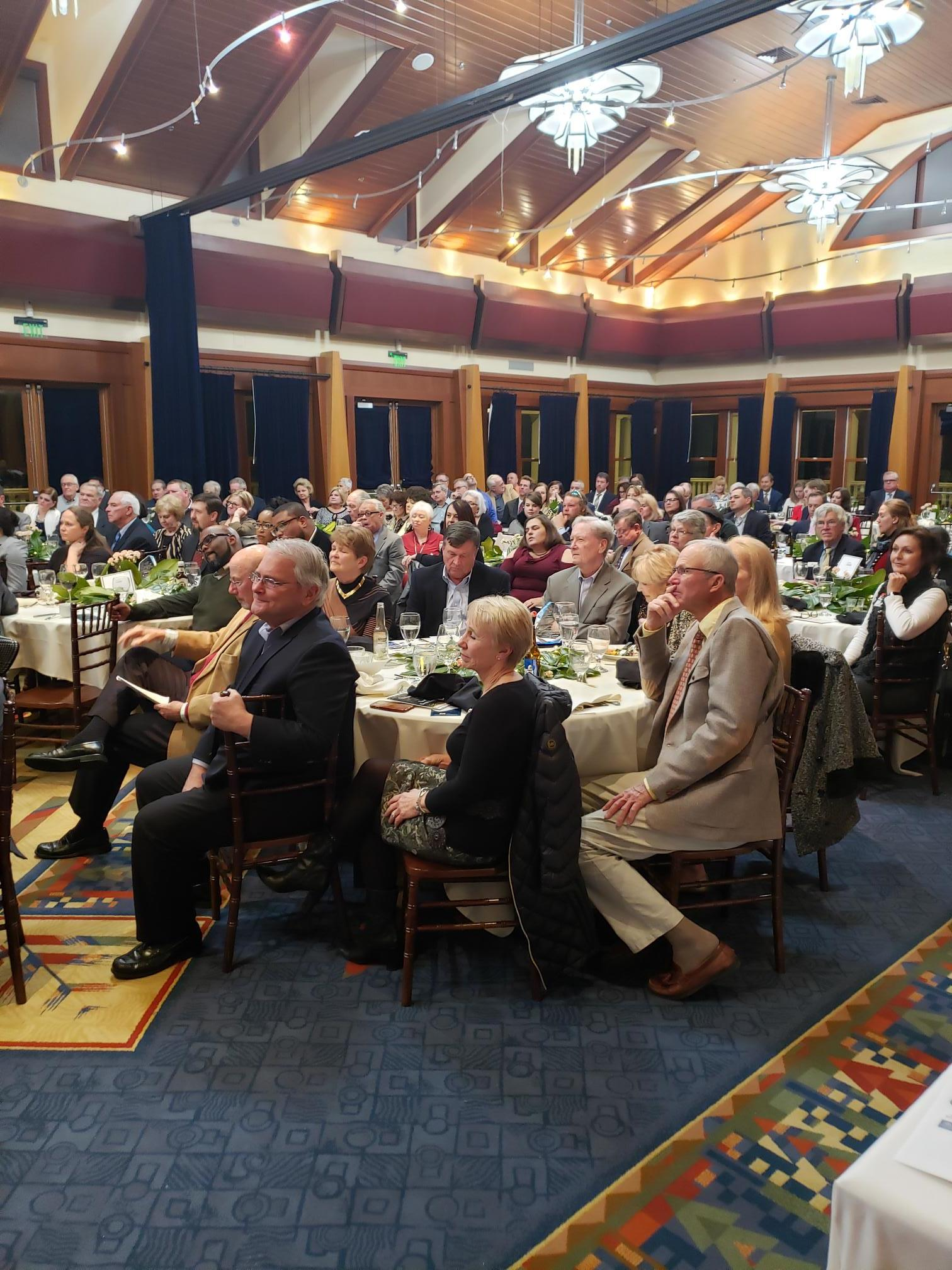 Attendees of 2018 Awards Banquet