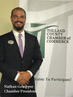 Nathan Gompper Chamber President