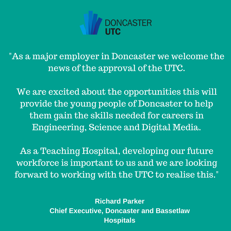 About the Doncaster UTC - Doncaster Chamber, SOUTH YORKSHIRE
