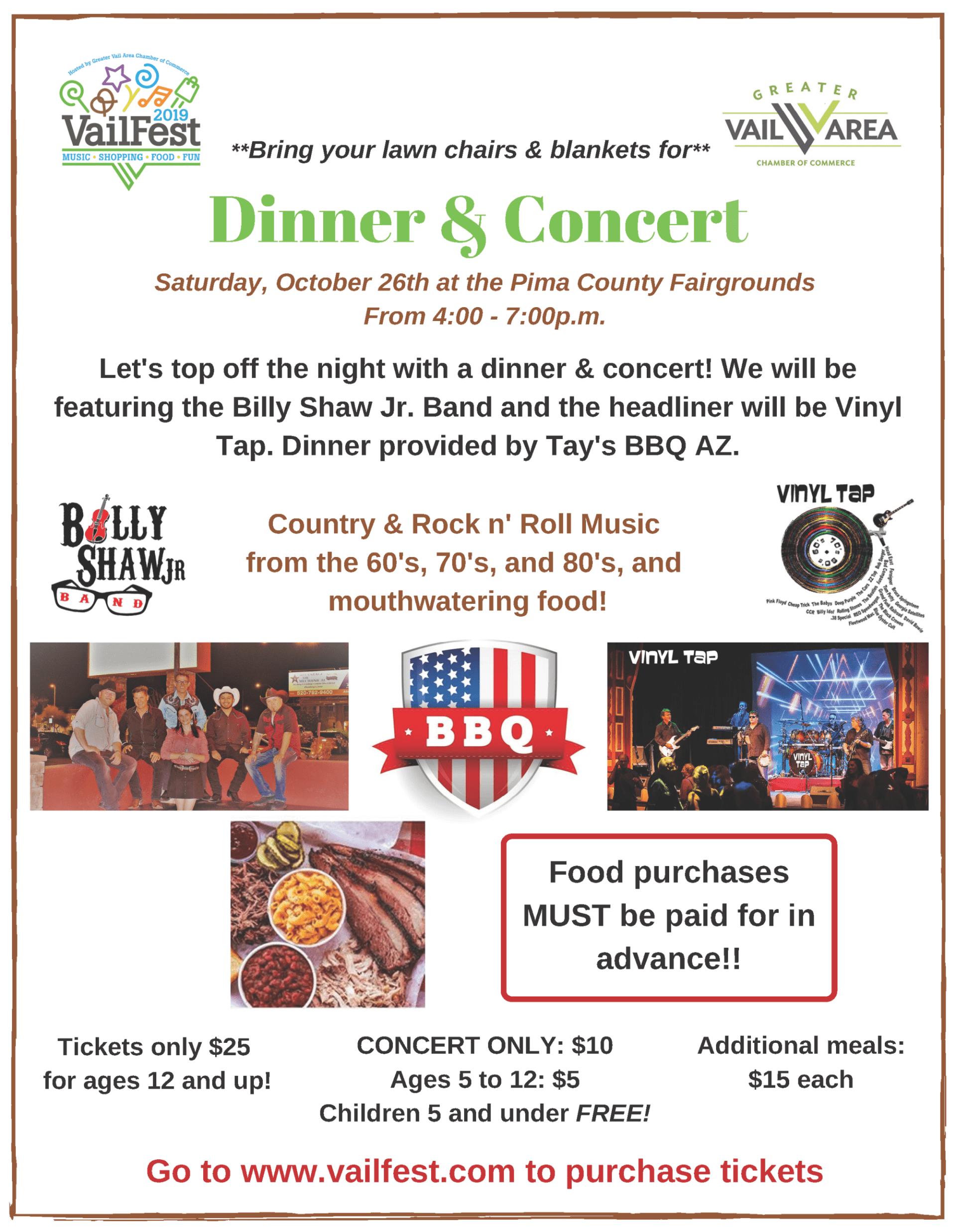 Dinner & Concert
