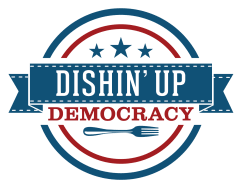 dishin up democracy logo