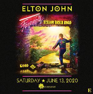 Elton John Yellow Brick Road Tour