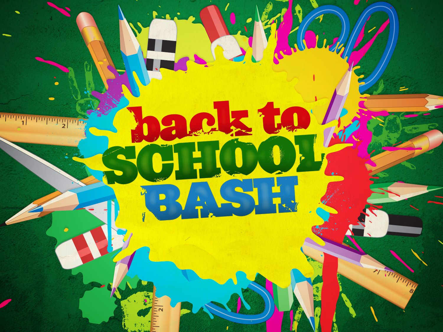 11th Annual Back to School Bash - July 25th