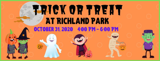 Trick or Treat at Richland Park