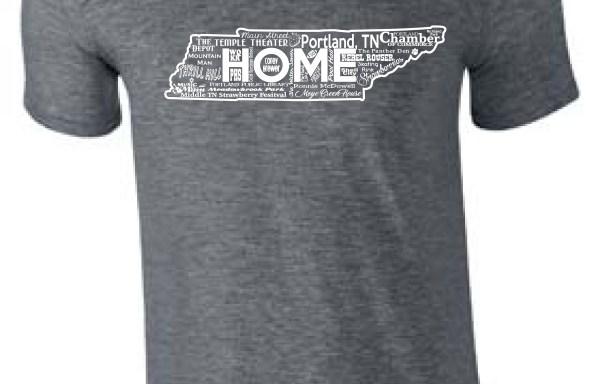 Home T-shirt:  Grey