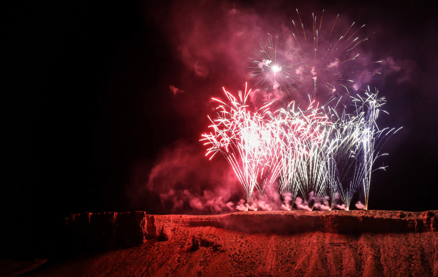 July 4th Fire Up the Cliffs Fireworks Celebration in Kremmling, CO - Grand County