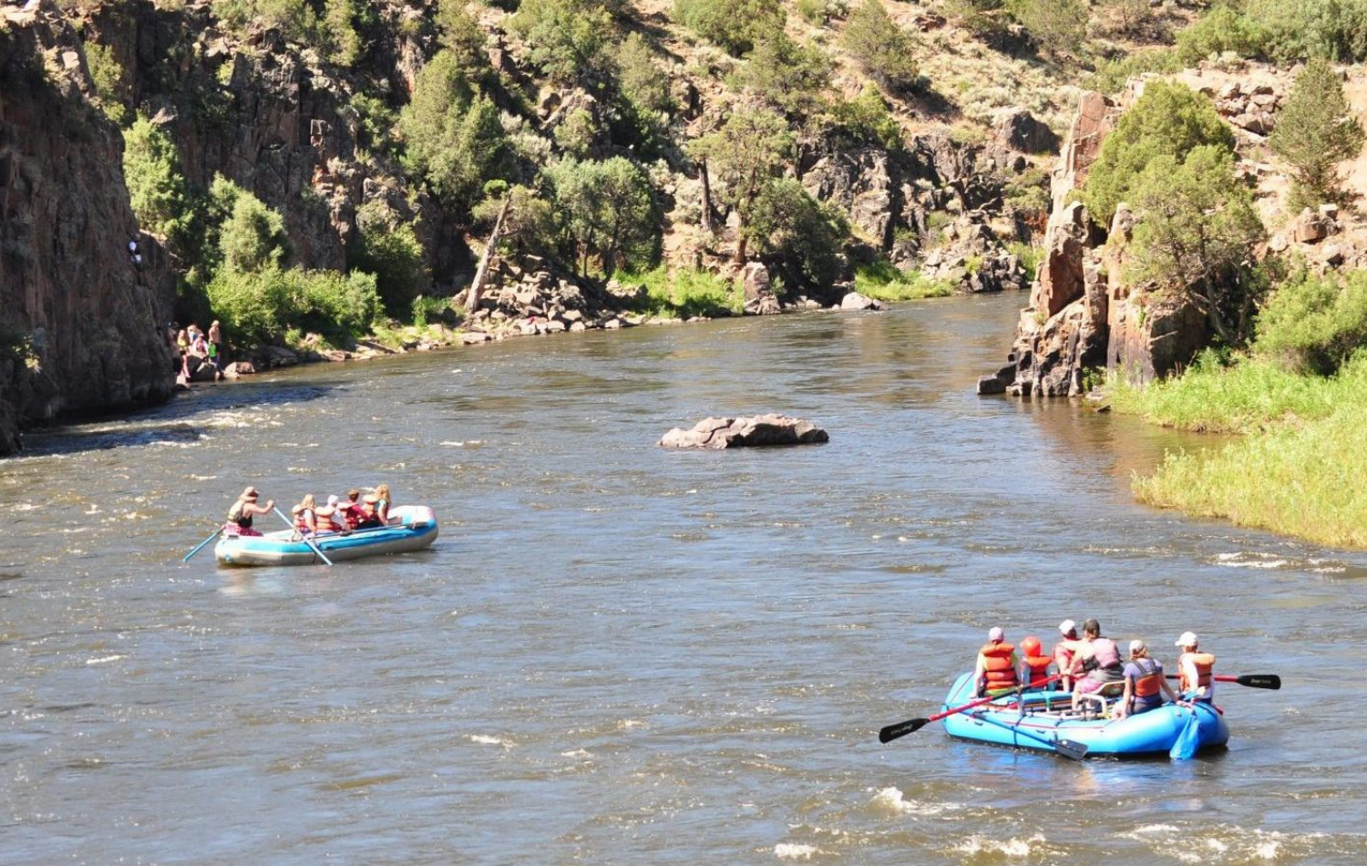 Whitewater Rafting & Tubing in Kremmling, CO - Grand County