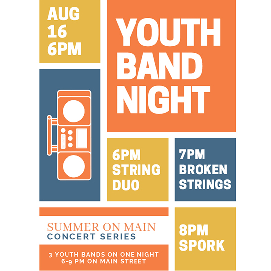 Summers on Main: Youth Band Night