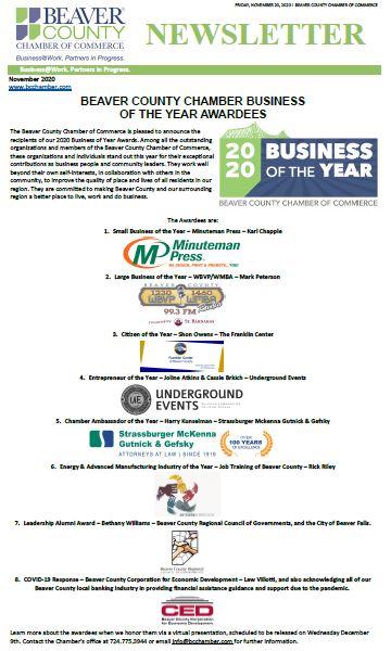 November Digital Newsletter