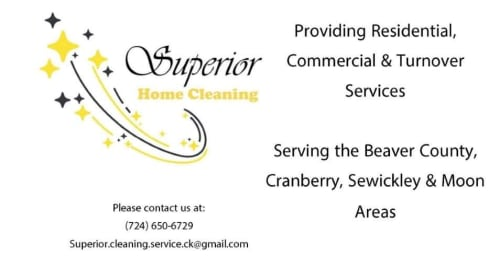 Superior Home Cleaning Ad