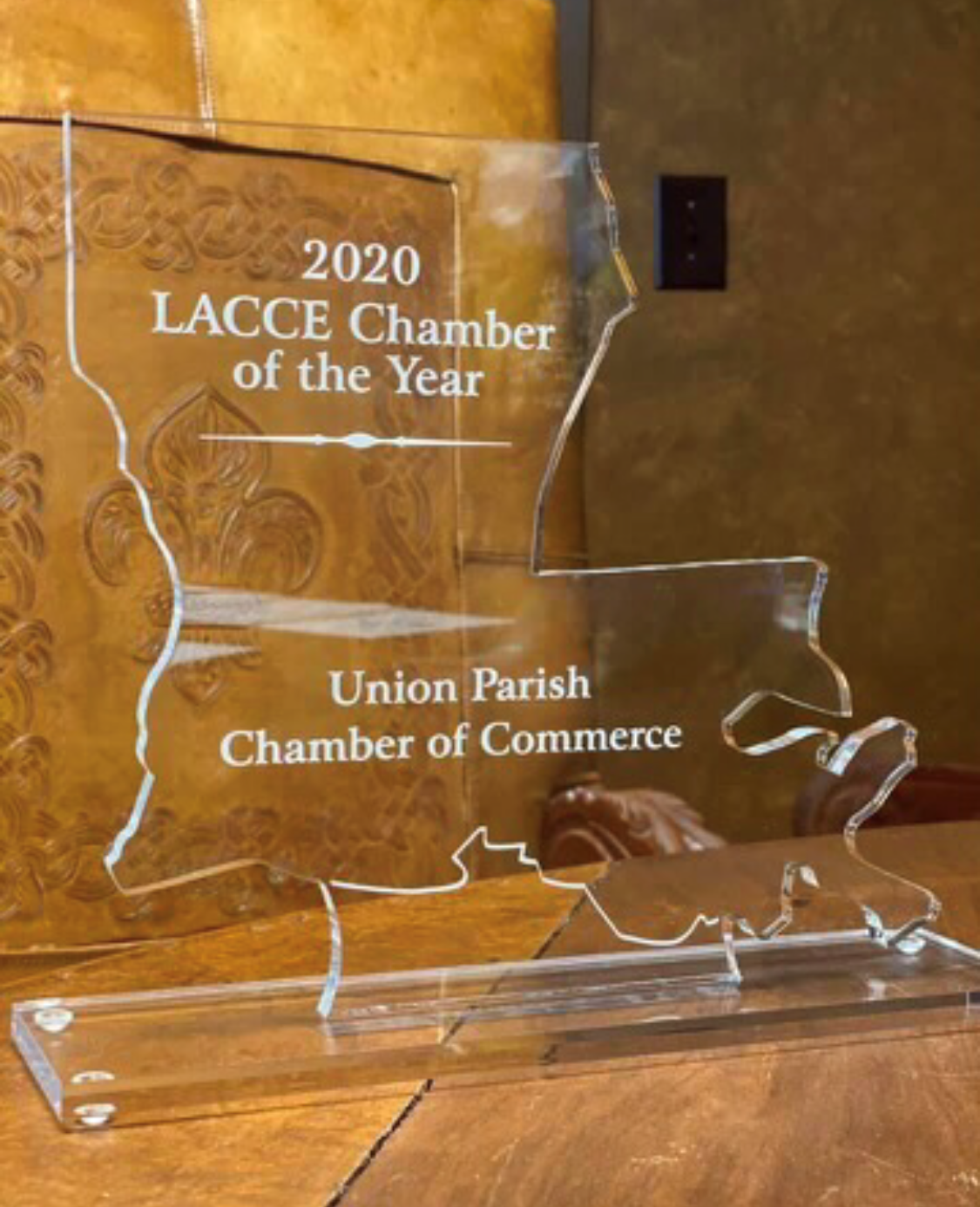 2020 LACCE Chamber of Year for Louisiana