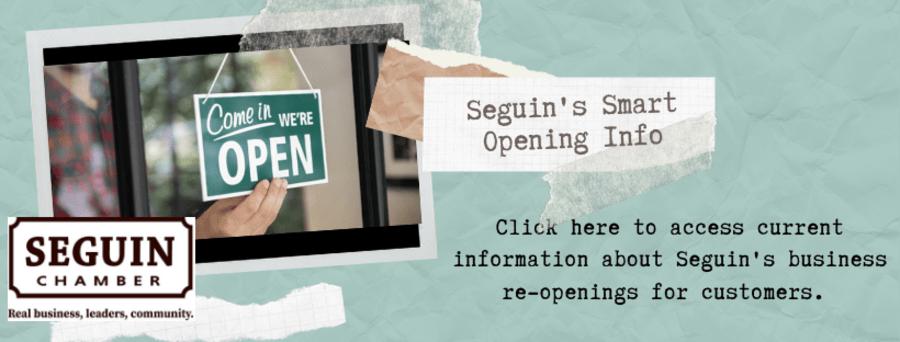 Seguin's Smart Opening Info