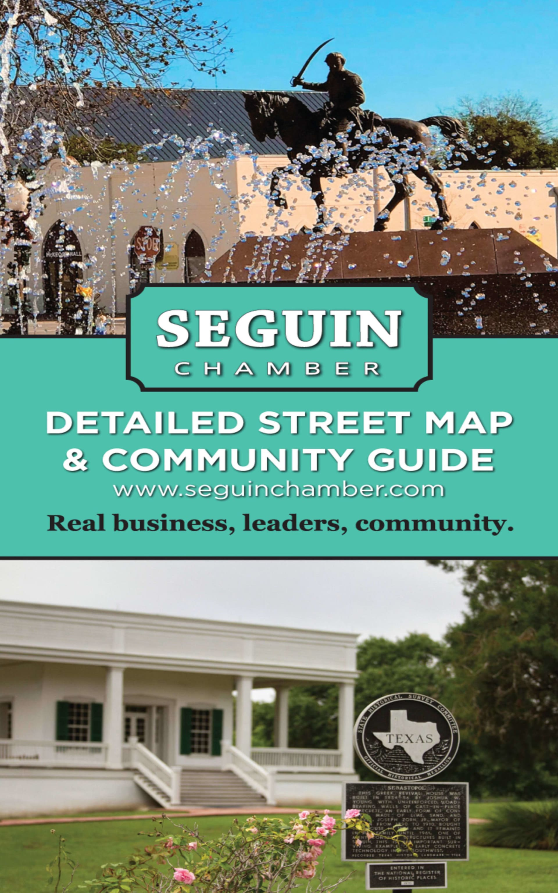 Seguin / Guadalupe County Map 2019