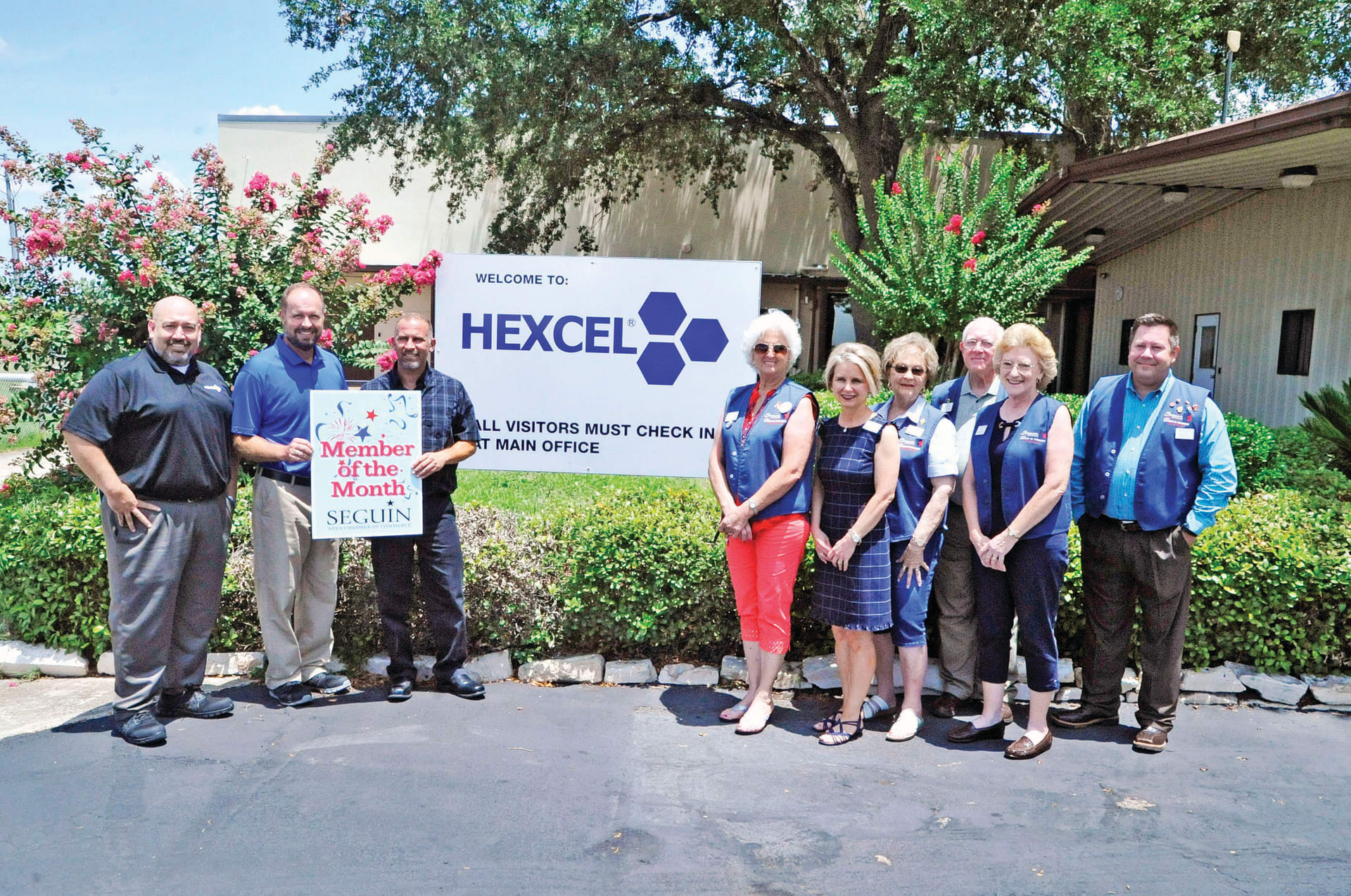 August Member of the Month - Hexcel