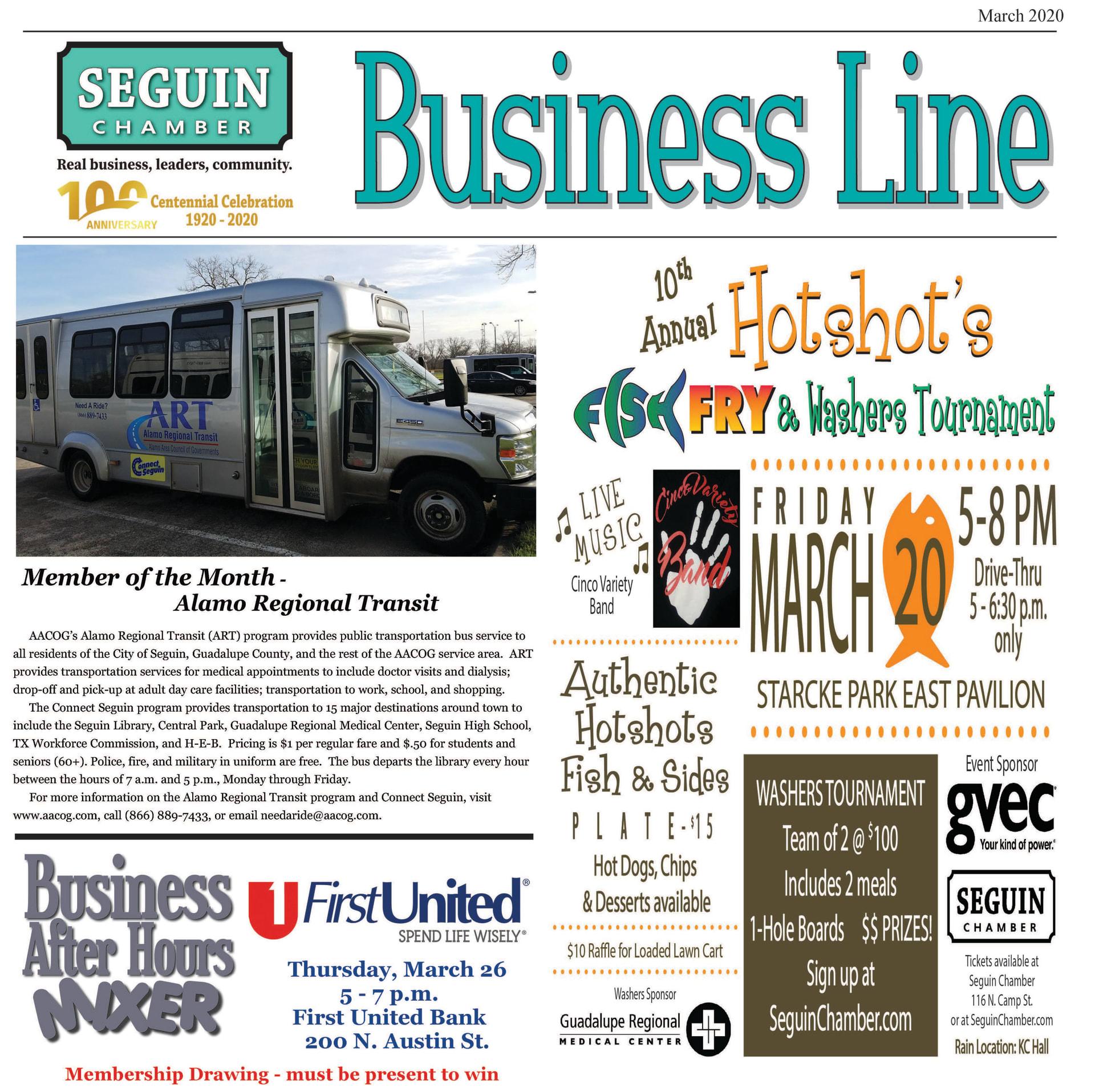 March 2020 BusinessLine Newsletter