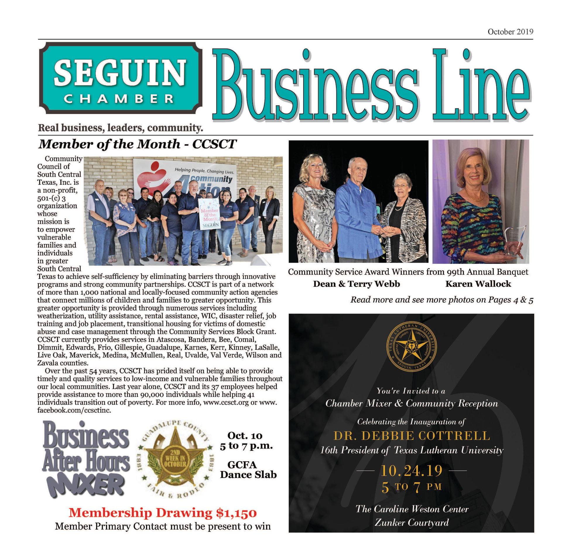 October 2019 BusinessLine Newsletter