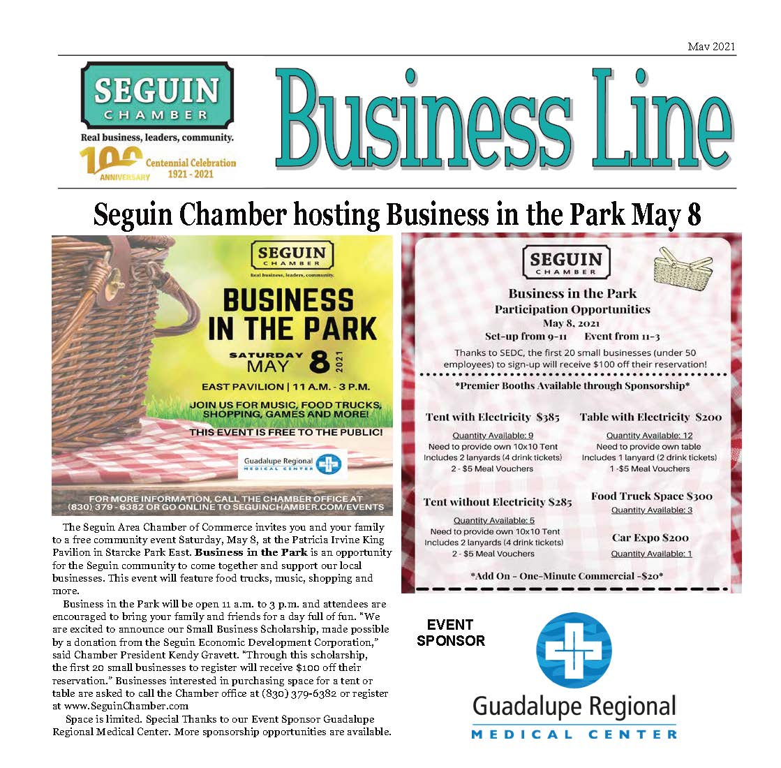 Spring 2021 BusinessLine Newsletter