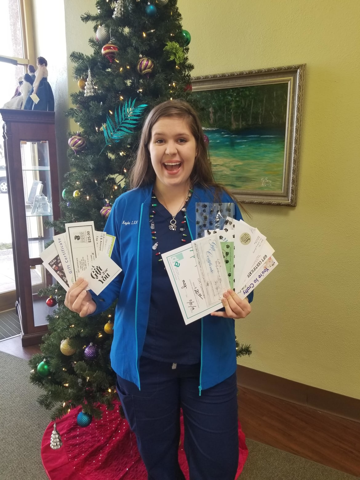 Shop Seguin Win Big Winner Kaylee Anderson