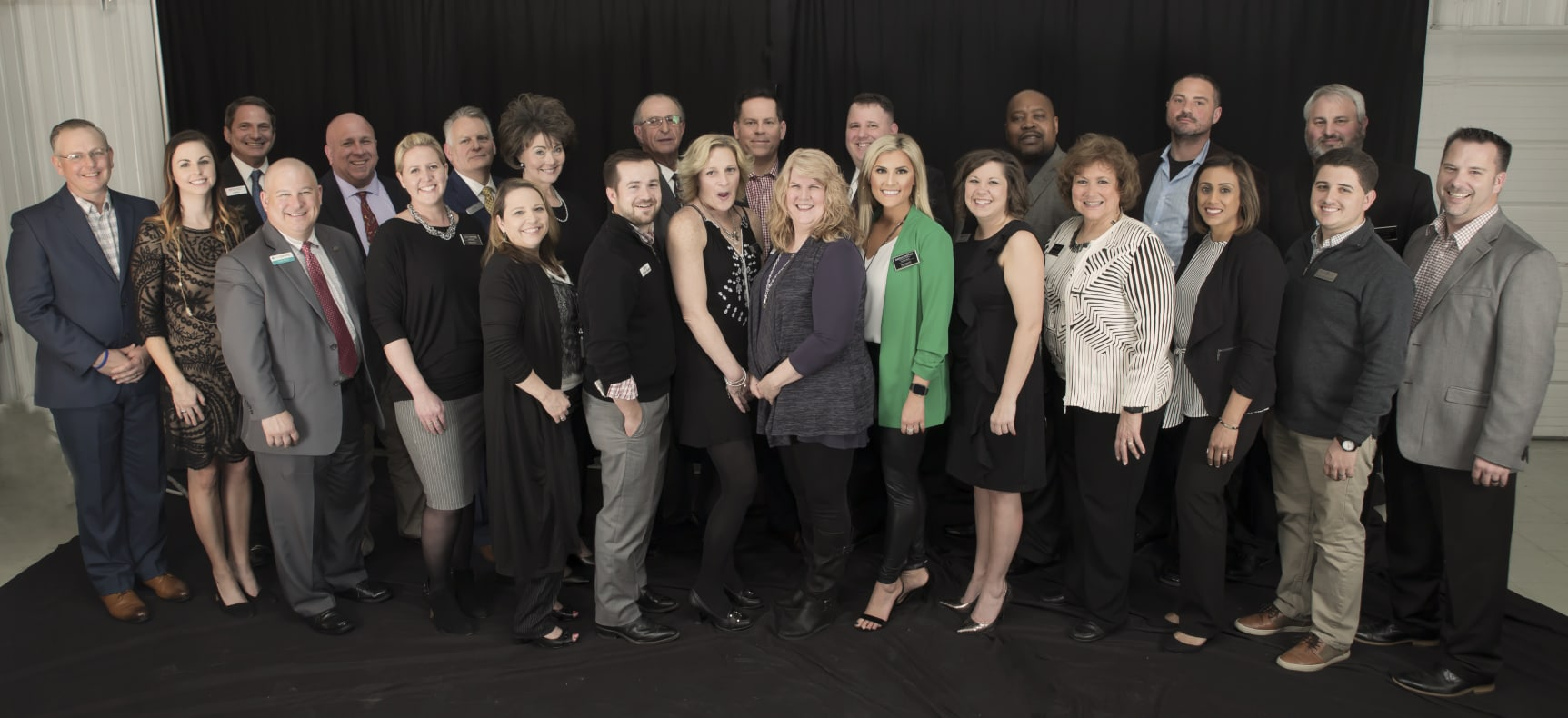 2018 Sherwood Chamber of Commerce Officers and Executive Committee