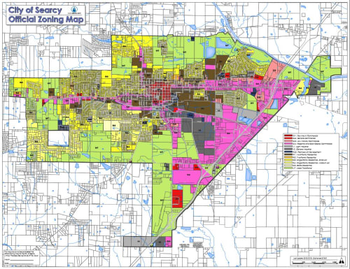 City of Searcy Zoning Map