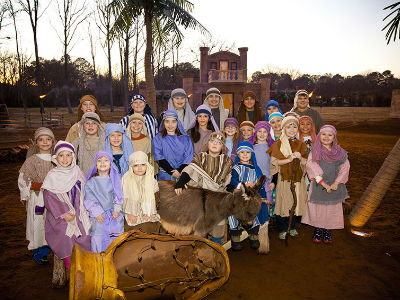 Live Nativity in Searcy Arkansas