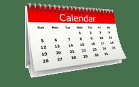 2020 Event Calendar