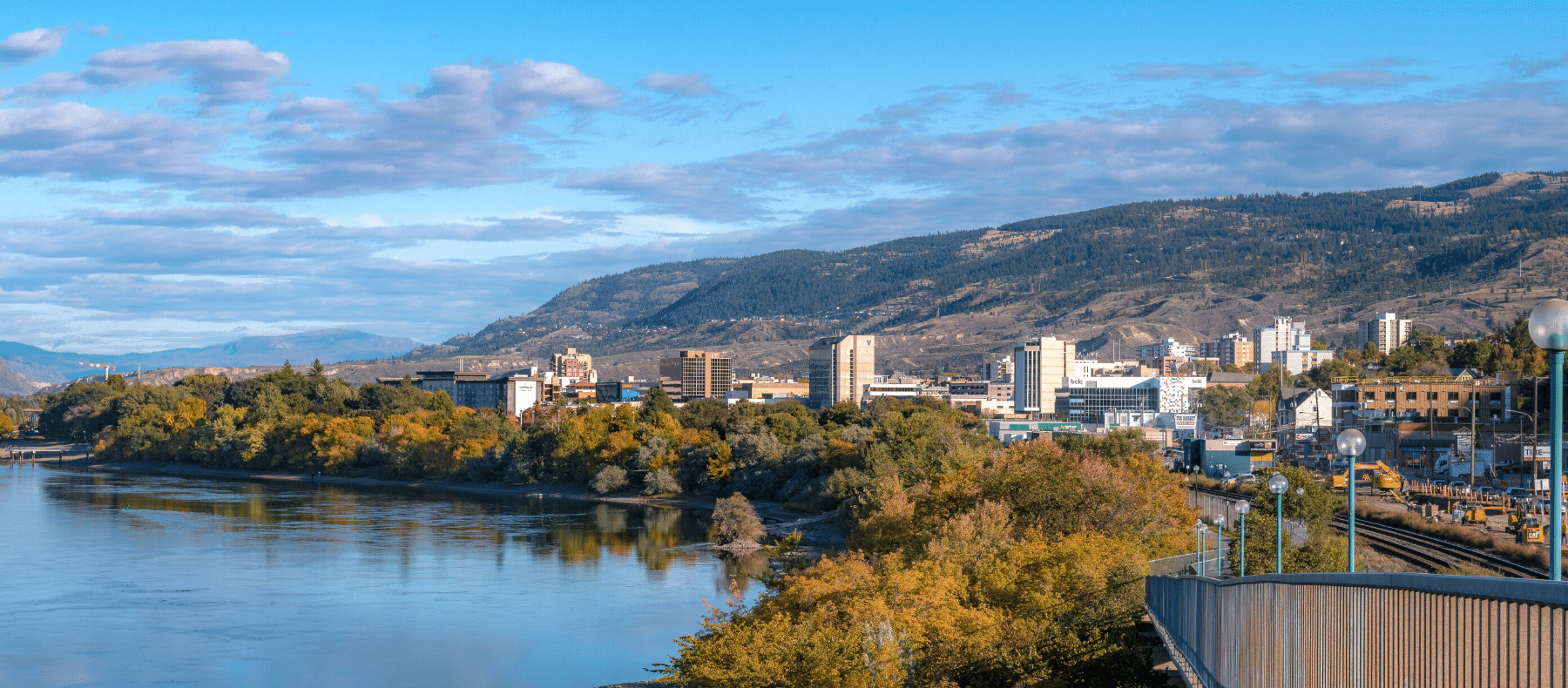 Kamloops scenic view