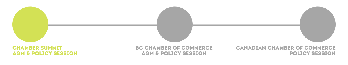 Policy Tracker, Kamloops Chamber of Commerce, Advocacy